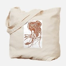 Claire Corey Copper Jellyfish Collection Tote Bag