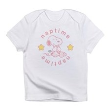 Snoopy Naptime - Pink Infant T-Shirt