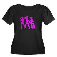 Scoop Neck Plus Size T-Shirt