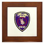 Redlands PD SWAT Framed Tile