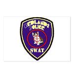 Redlands PD SWAT Postcards (Package of 8)