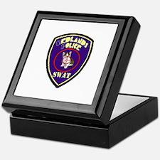 Redlands PD SWAT Keepsake Box