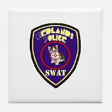 Redlands PD SWAT Tile Coaster