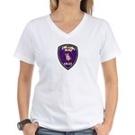 Redlands PD SWAT Women's V-Neck T-Shirt