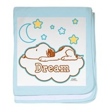 Snoopy Dream baby blanket