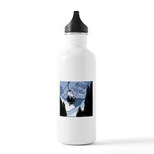 Chairlift Full of Skie Water Bottle