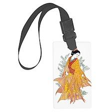 Koi Kimono Luggage Tag