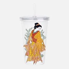 Koi Kimono Acrylic Double-wall Tumbler