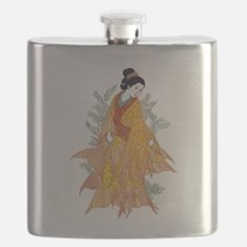Koi Kimono Flask