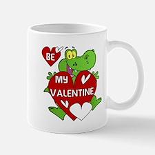 Crocodile Be My Valentine Mug
