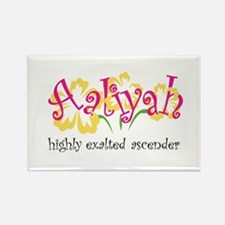 Aaliyah Rectangle Magnet