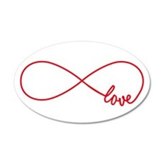Never ending love Wall Decal