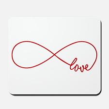 Never ending love Mousepad