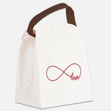 Never ending love Canvas Lunch Bag