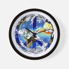 World Peace Wall Clock