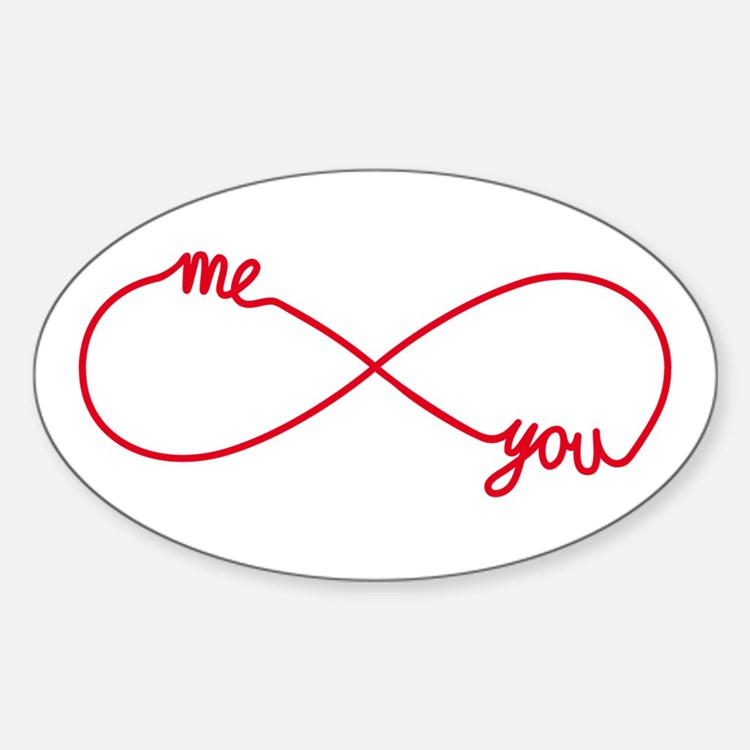 You and me together forever Decal