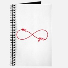 You and me together forever Journal
