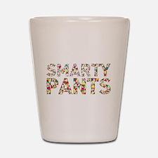 Smarty Pants Geometric Shot Glass