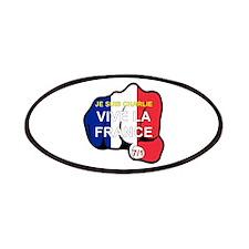 Je Suis Charlie Vive La France Fist Patches