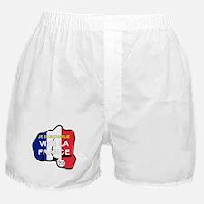 JE SUIS CHARLIE VIVE LA FRANCE FIST Boxer Shorts