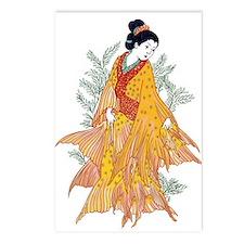 Koi Kimono Postcards (Package of 8)