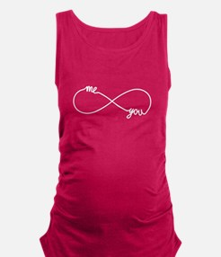 You and me forever Maternity Tank Top
