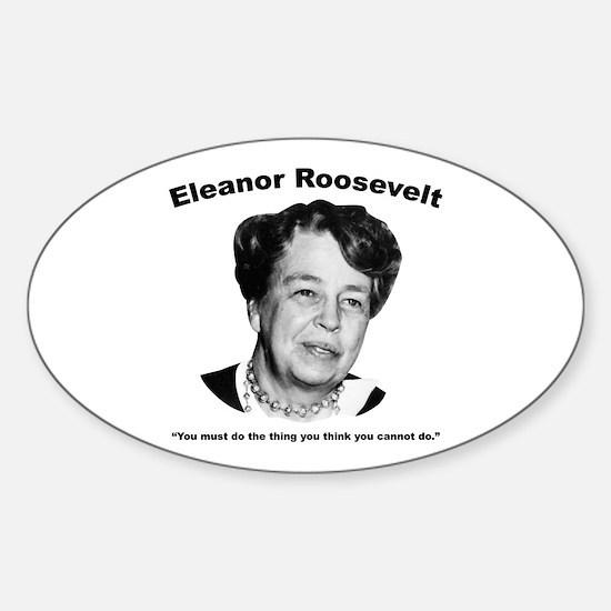 Eleanor: Do Sticker (Oval)