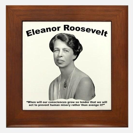 Eleanor: Conscience Framed Tile