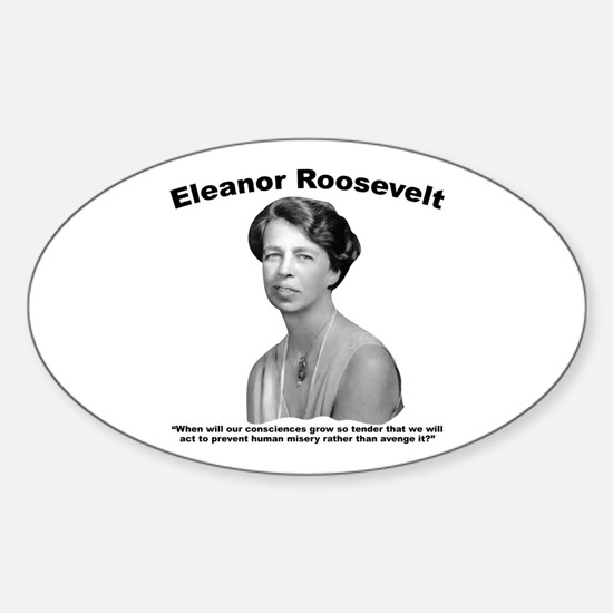Eleanor: Conscience Sticker (Oval)