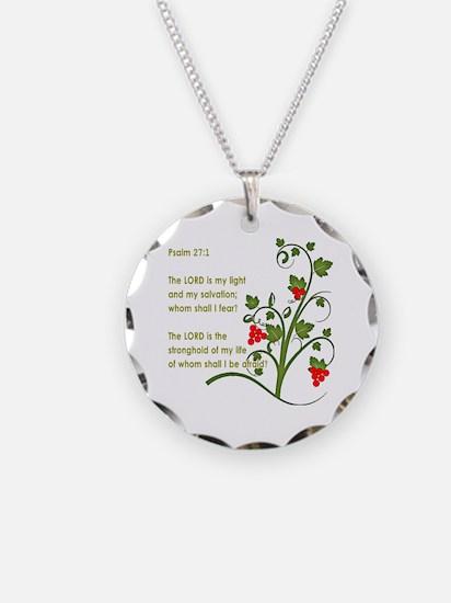 Psalm 27:1 Necklace