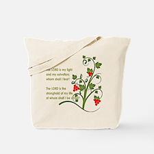 Psalm 27:1 Tote Bag