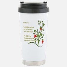 Psalm 27:1 Travel Mug