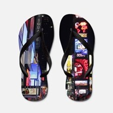 Stunning Times Square New York City Pro Flip Flops