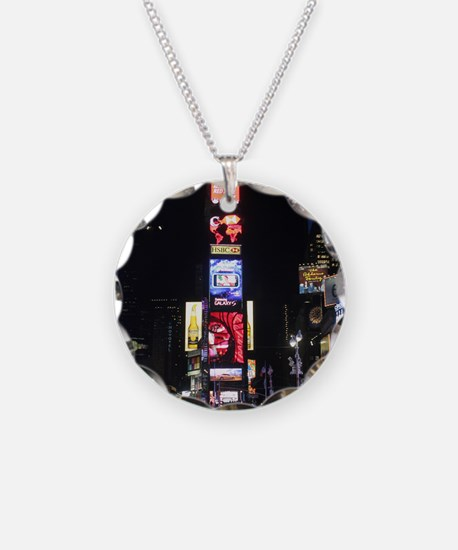 Stunning Times Square New Yo Necklace