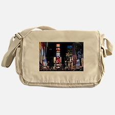 Stunning Times Square New York City Messenger Bag