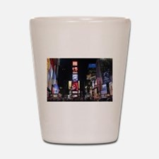 Stunning Times Square New York City Pro Shot Glass