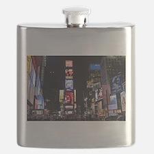 Stunning Times Square New York City Pro phot Flask