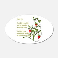 Psalm 27:1 Wall Decal