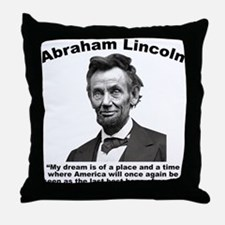 Lincoln: BestHope Throw Pillow