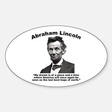 Lincoln: BestHope Sticker (Oval)