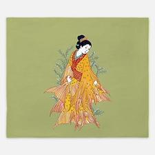 Koi Kimono King Duvet