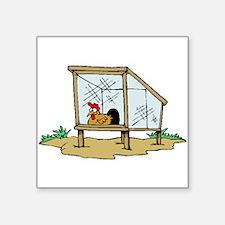 Chicken Coop Sticker