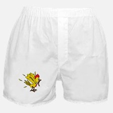 Angry Chicken Boxer Shorts