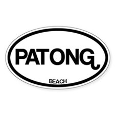 Patong Beach Decal