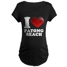 I Heart Patong Beach Maternity T-Shirt