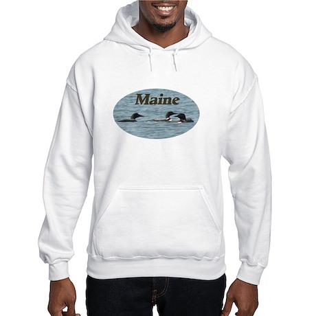 3 loons Hooded Sweatshirt