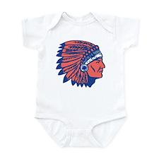 INDIAN CHIEF Infant Bodysuit