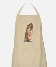 Chimp Thinking Apron