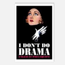 I DON'T DO DRAMA Postcards (Package of 8)