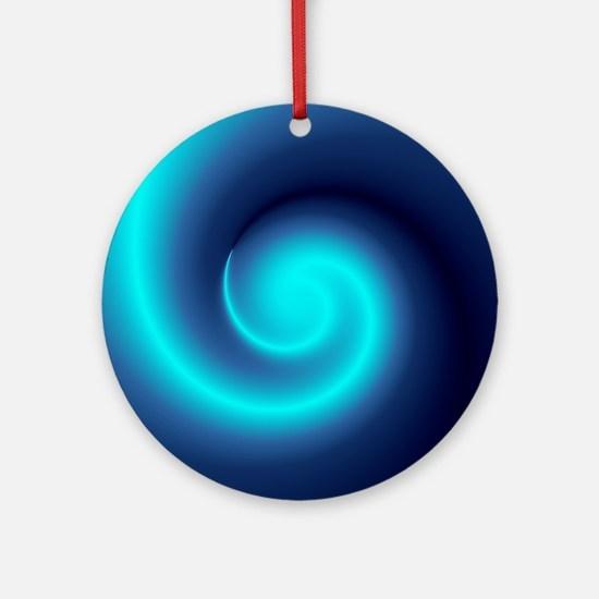 Deep Sea Swirl Ornament (Round)